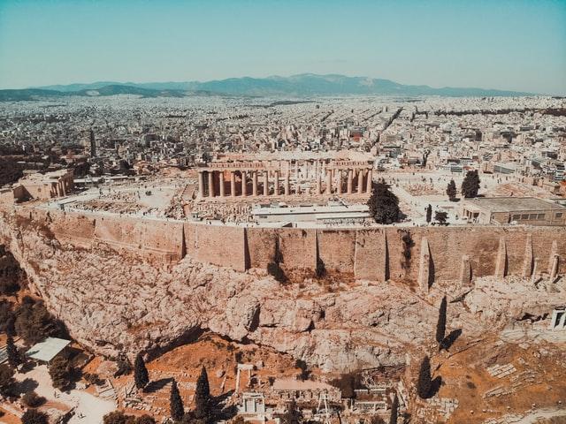 A múlt, a jelen és a jövő városa-Athén