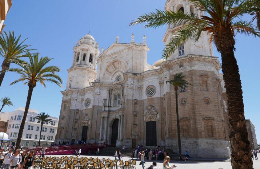 Andalúz utazás 18. rész, Cadíz dóm, tengerparti sétány és környéke