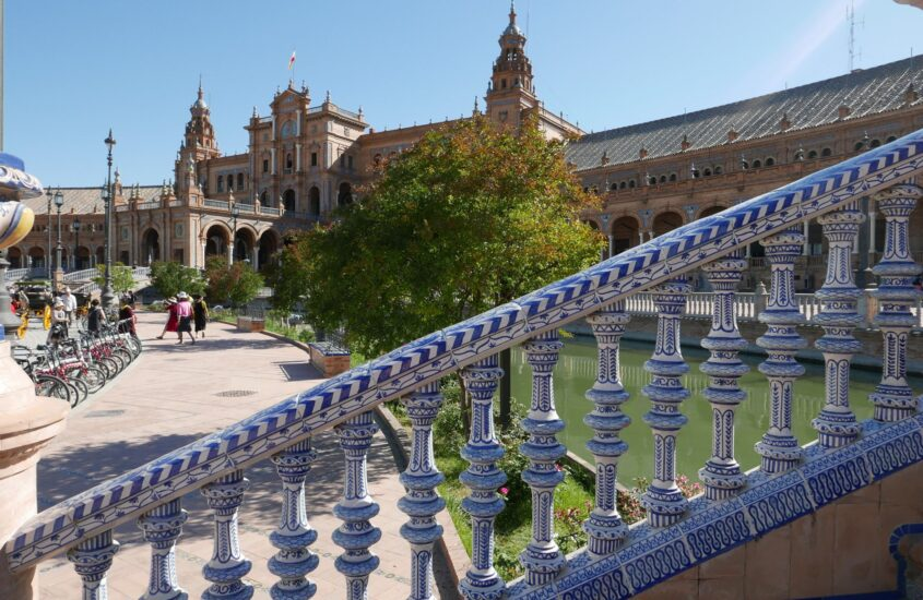 Andalúz utazás 25. rész, Sevilla – Plaza de Espana