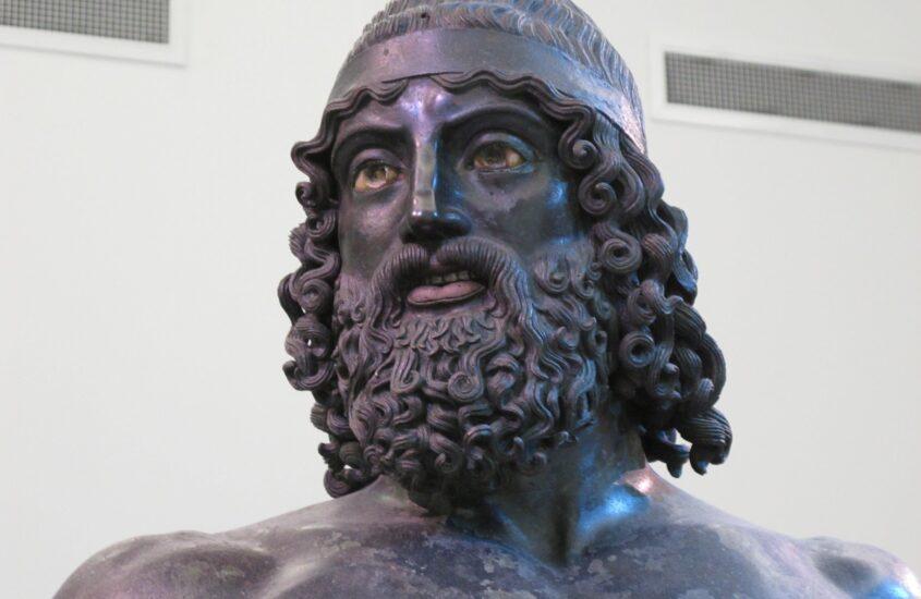 Calabriai mozaik 9. rész: A riacei bronzszobrok