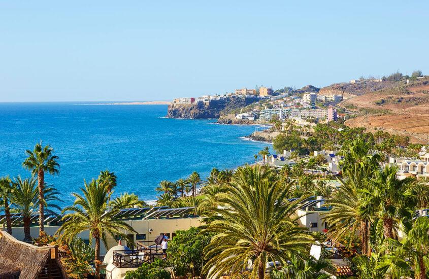 8 nap Gran Canaria Bécsből közvetlen repülőjárattal, medencés 3*-os szállással 109.678,- Ft/fő áron!
