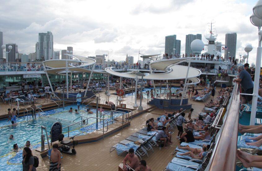Karibi kirándulás 5., hajóval Miamiból a Bahamákra