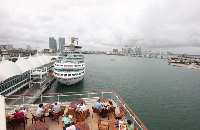 Karibi kirándulás 13., hajózás Key West-ből Miamiba