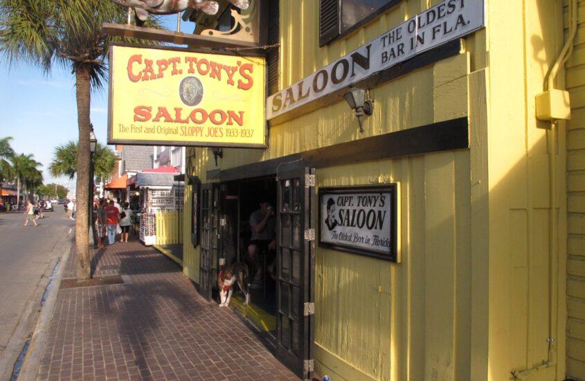 Karibi kirándulás 12., Key West – Capt. Tony's Saloon