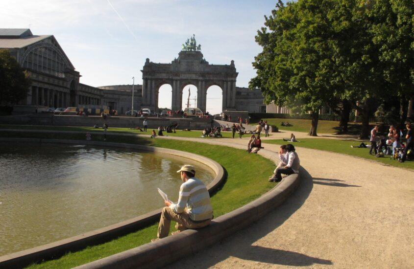 Belgiumi mozaik 5. Brüsszel: Parc du Cinquantenaire (Jubileumi Park )